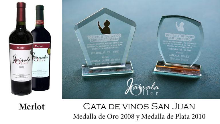 Premios Cata Merlot 2008 y 2010 carrousel